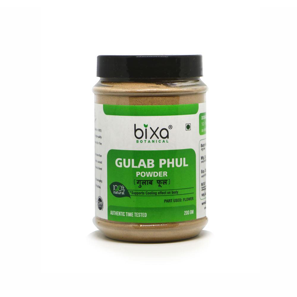 Bixa Botanical Gulab Phul Powder Rosa Damascena (200g)