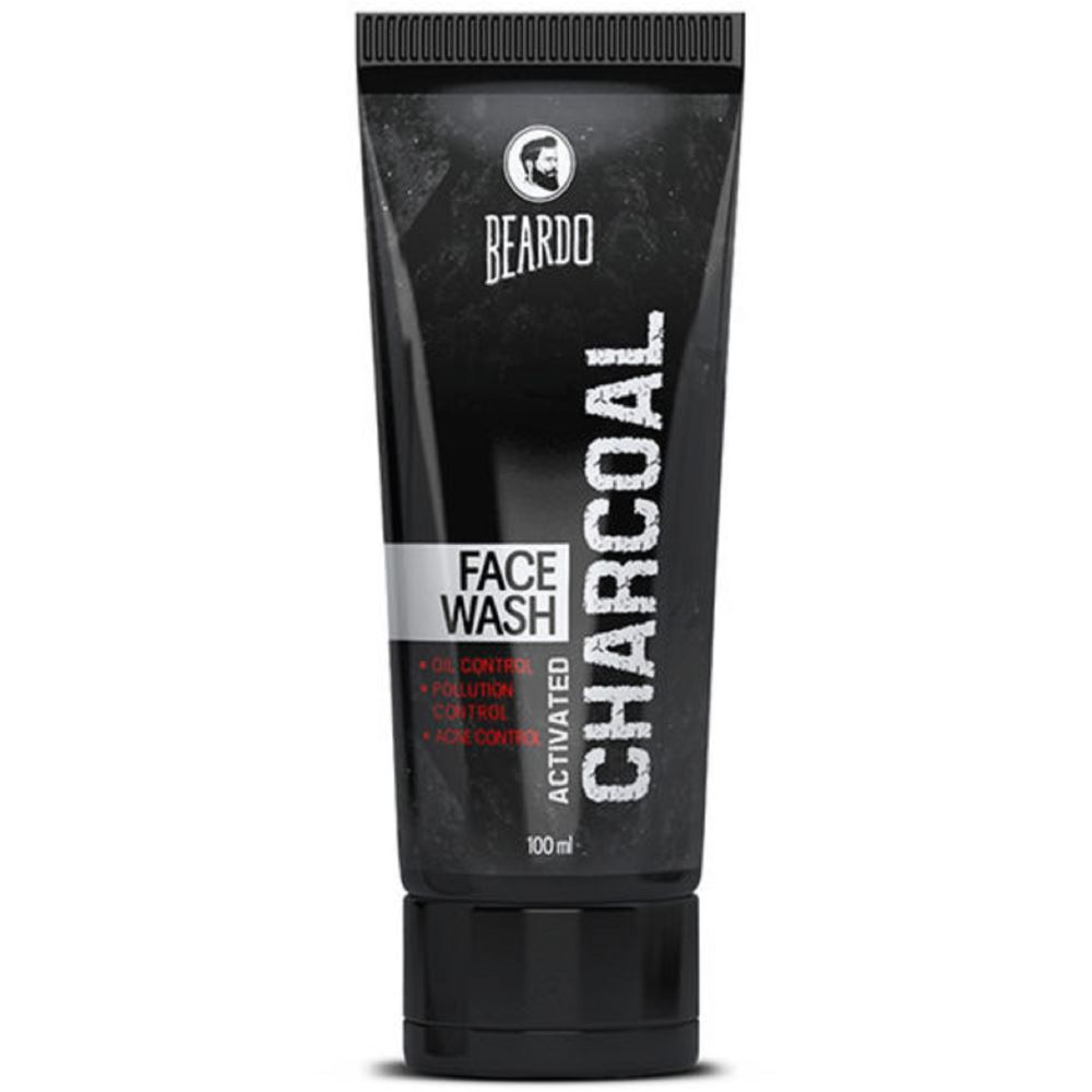 Beardo Activated Charcoal Face Wash (100ml)