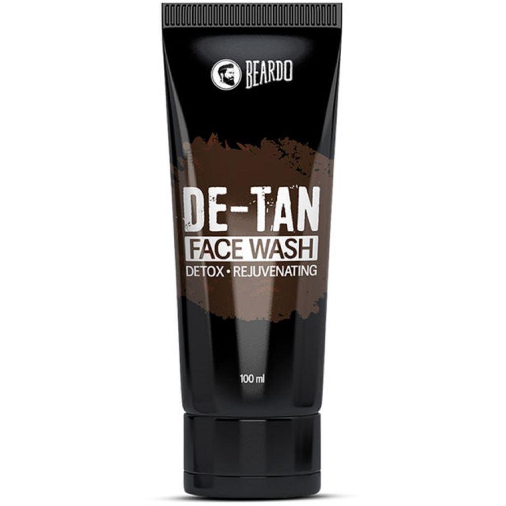 Beardo De-Tan Face Wash Detox & Rejuvenating (100ml)