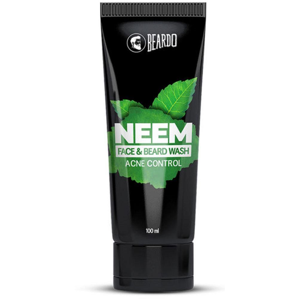 Beardo Neem Face & Beard Wash Acne Control (100ml)