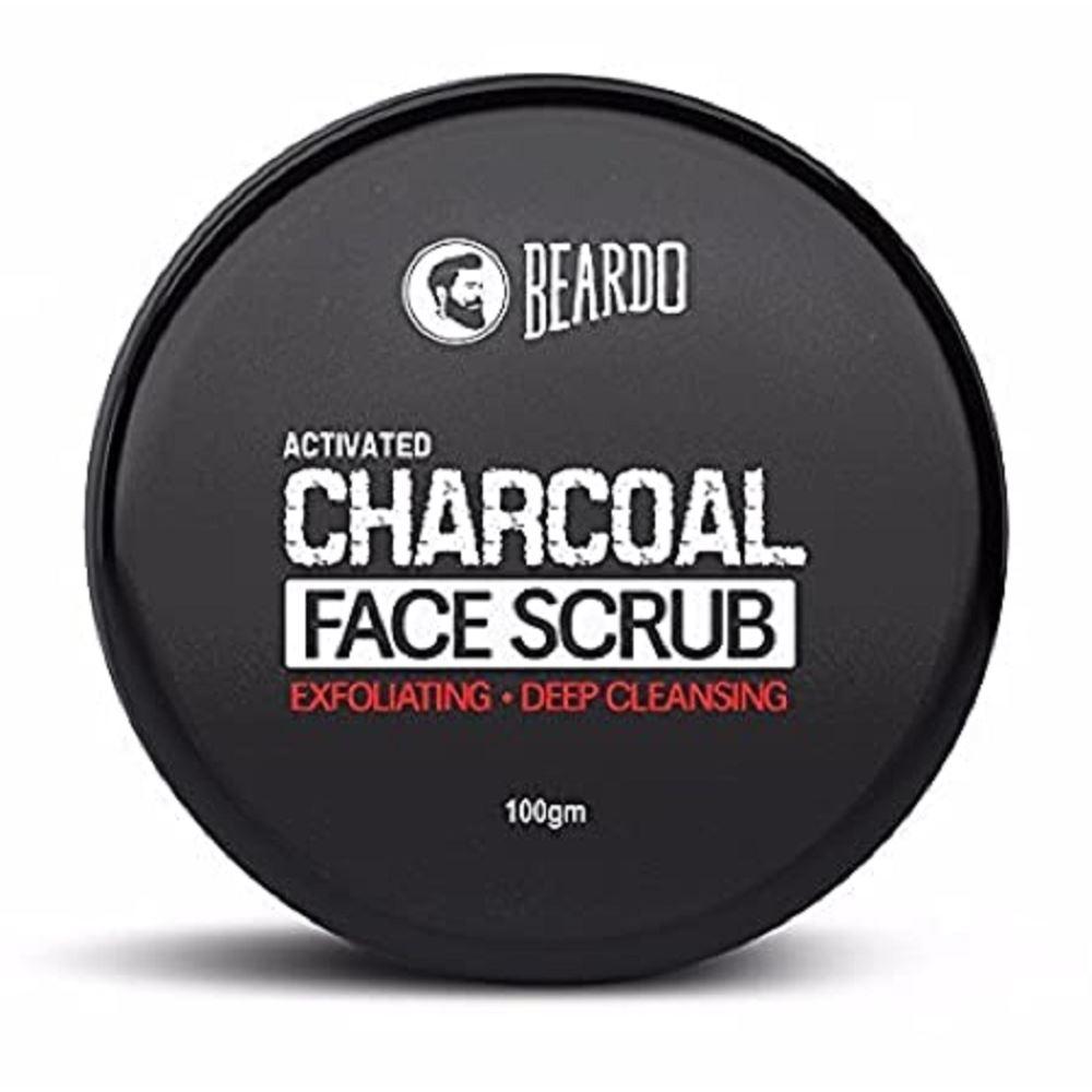 Beardo Activated Charcoal Face Scrub (100g)