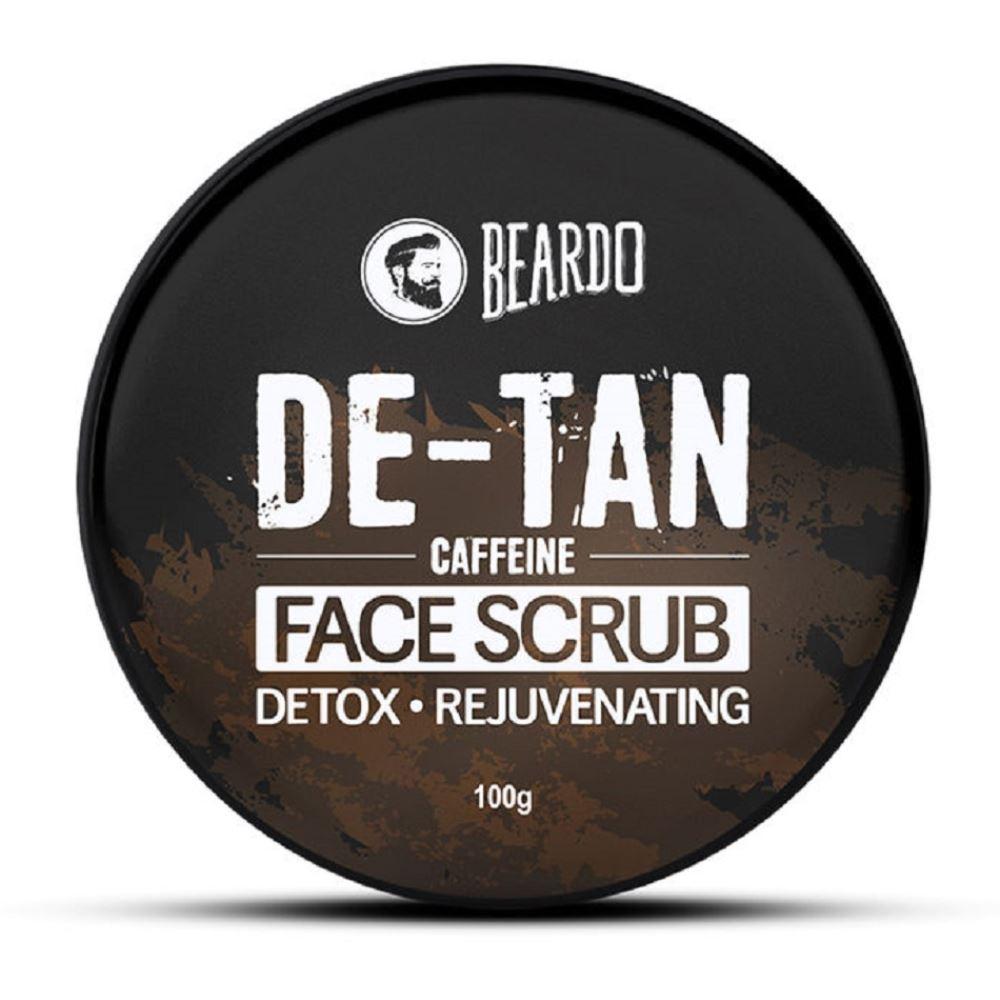 Beardo De-Tan Caffeine Face Scrub (100g)