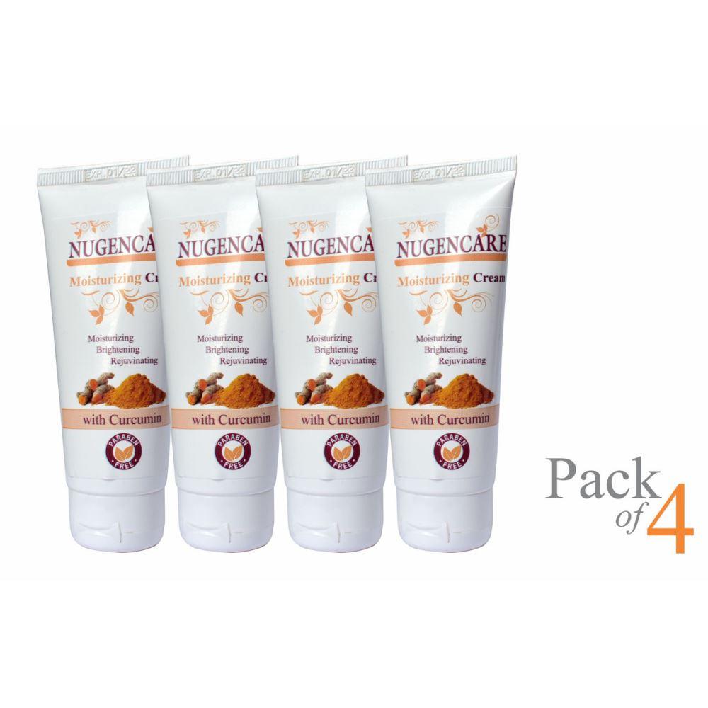 Nugencare Moisturizing Curcumin Cream (50g, Pack of 4)