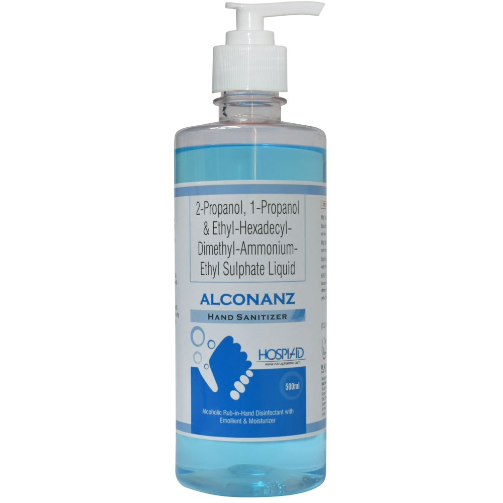 Alconanz Liquid Handrub Sanitizer (500ml)