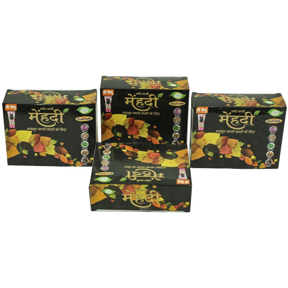 Meghdoot Herbal Kali Mehandi (100g, Pack of 4)