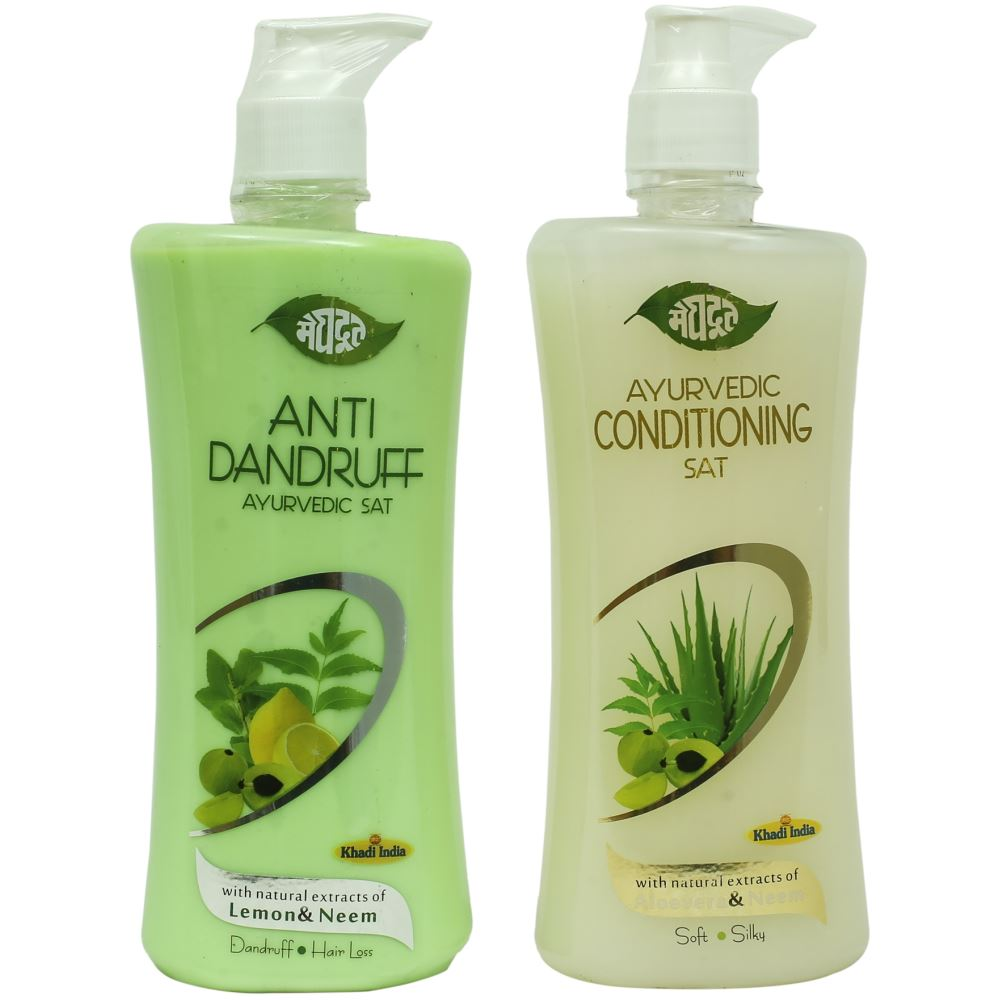 Meghdoot Anti Dandruff & Conditioning Shampoo Combo Pack (1Pack)