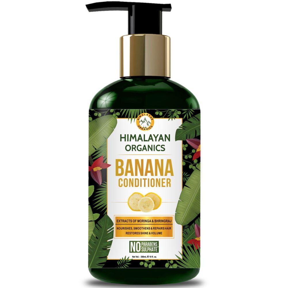 Himalayan Organics Banana Conditioner (300ml)