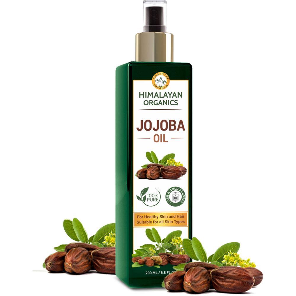 Himalayan Organics Cold Press Virgin Jojoba Oil  (200ml)