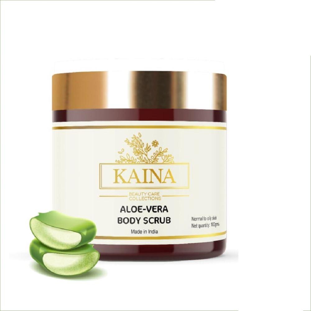 Kaina Skincare Aloevera Body Scrub (100g)