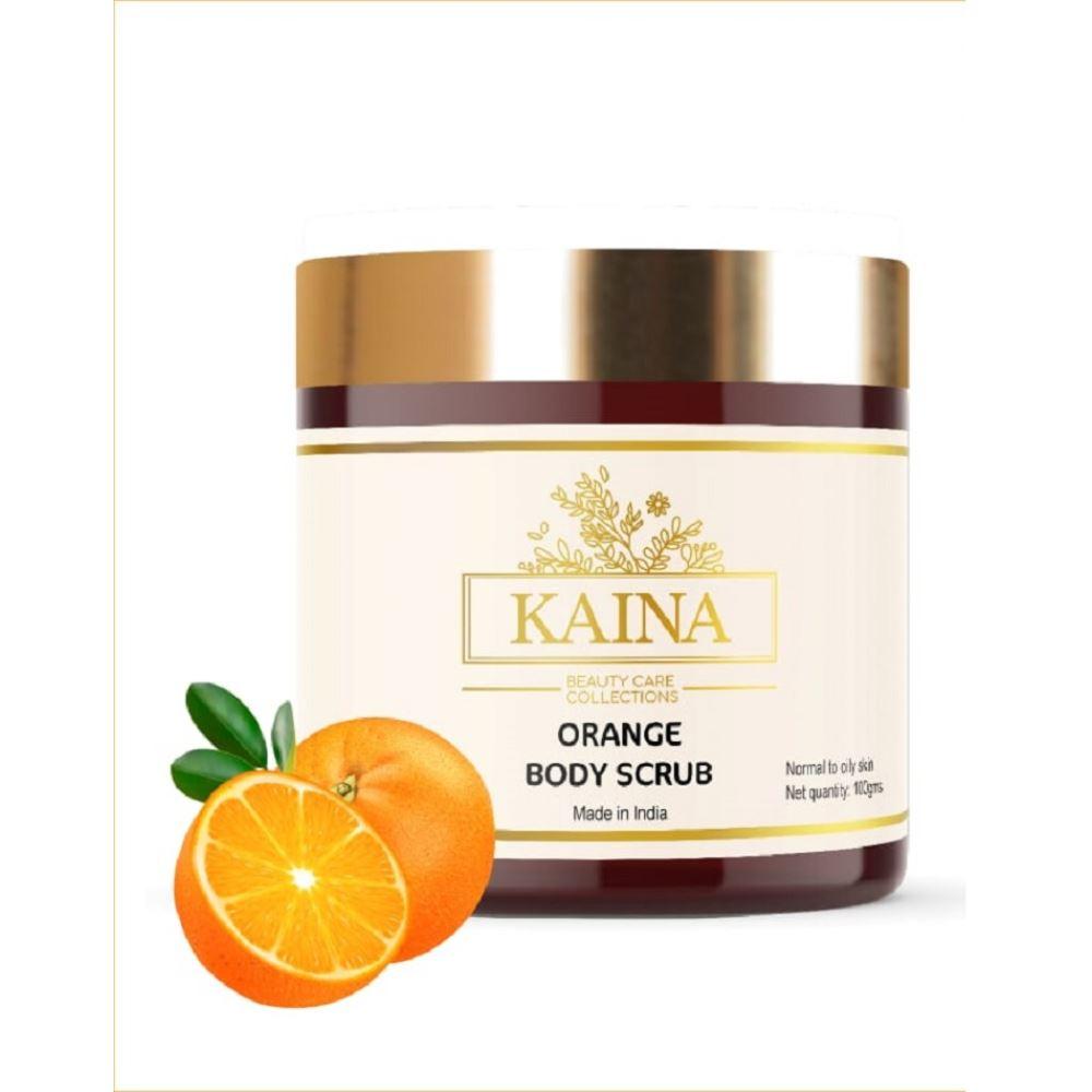 Kaina Skincare Orange Body Scrub (100g)