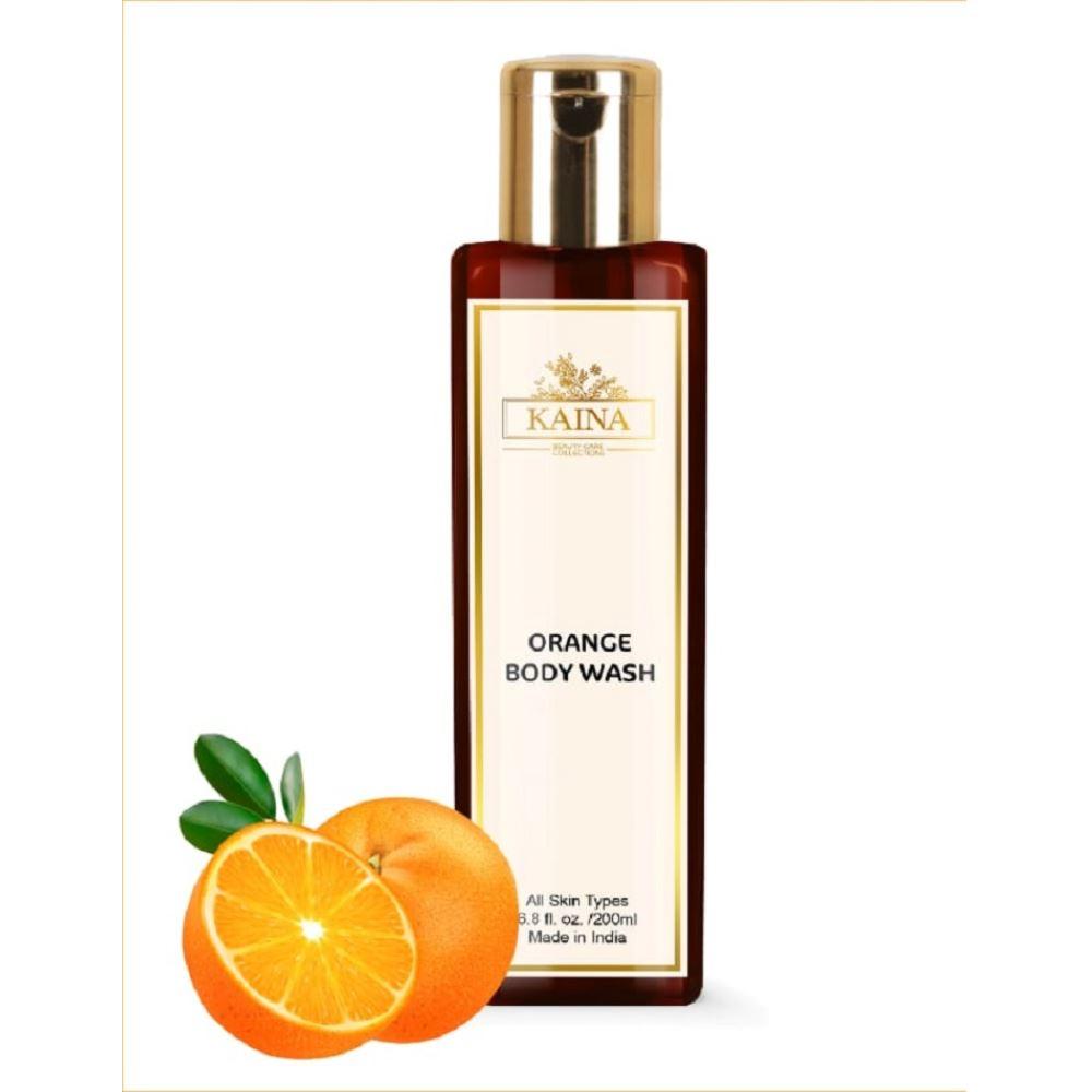 Kaina Skincare Orange Body Wash (200ml)