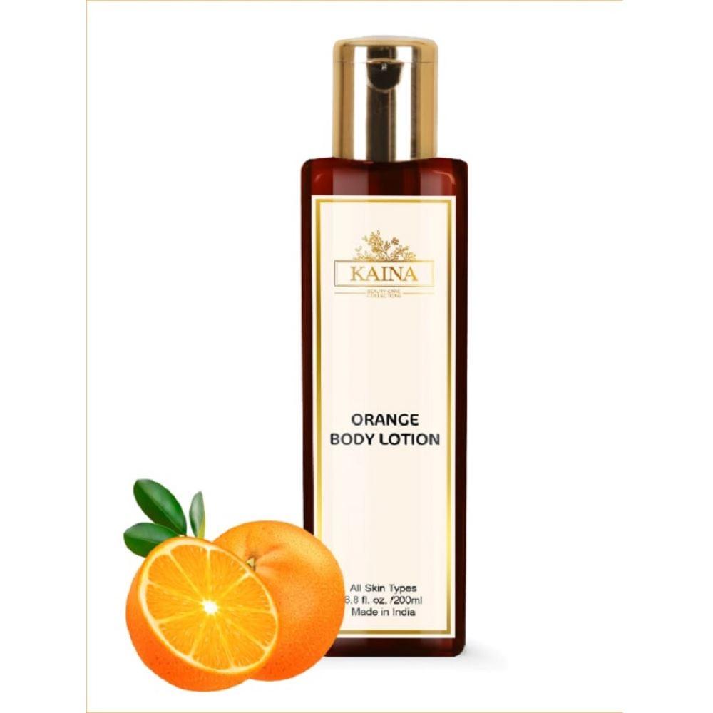 Kaina Skincare Orange Body Lotion (200ml)