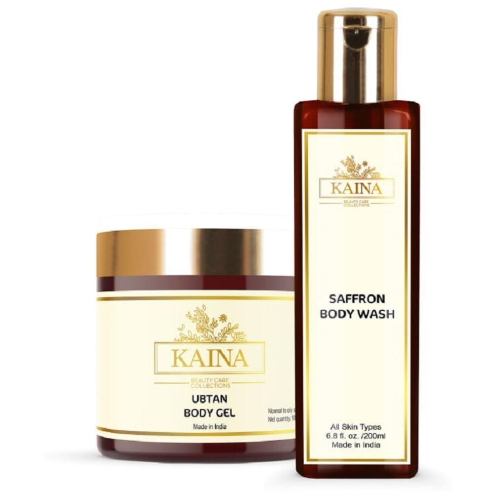 Kaina Skincare Ubtan Body Gel & Wash Combo (1Pack)