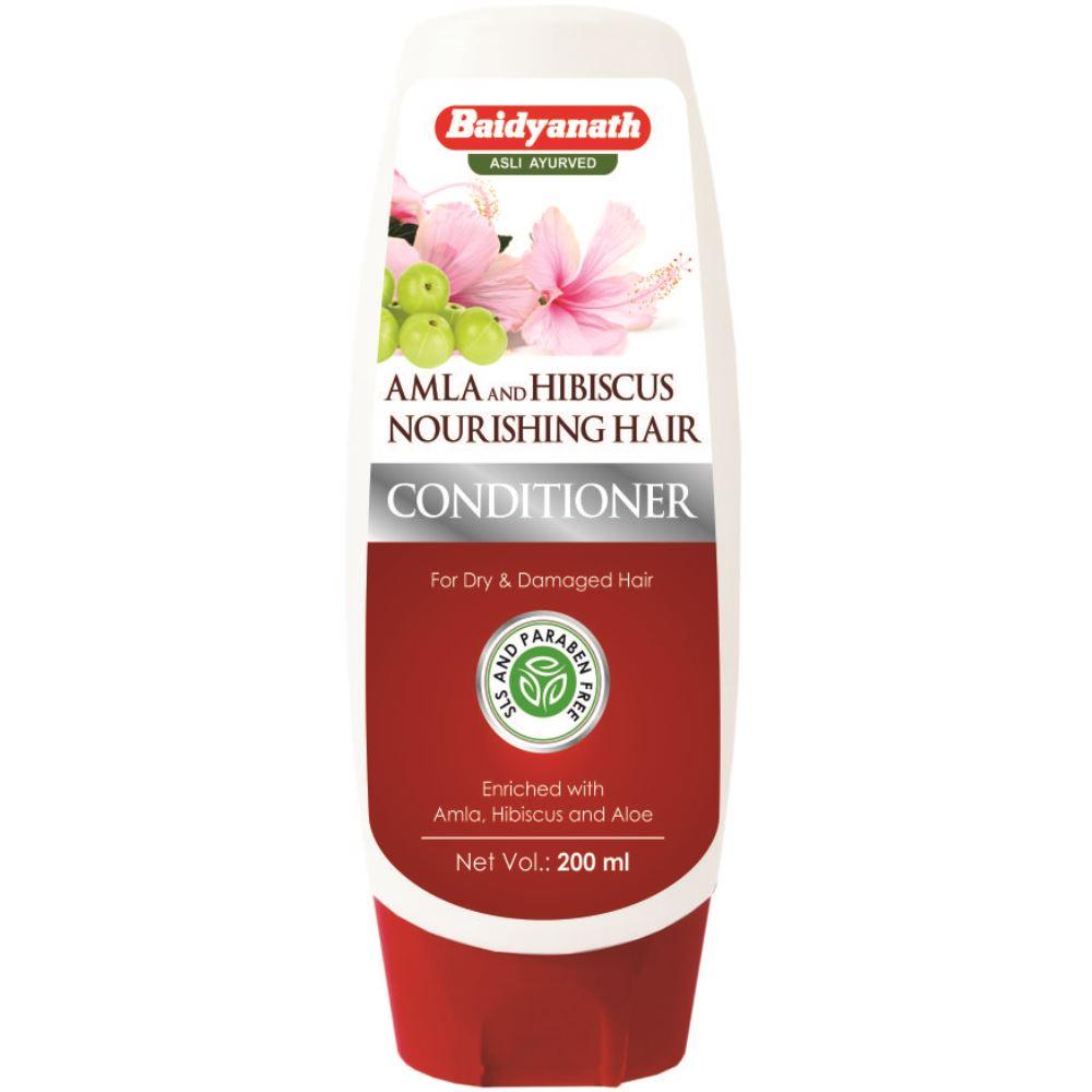 Baidyanath (Nagpur) Amla And Hibiscus Nourishing Hair Conditioner (200ml)