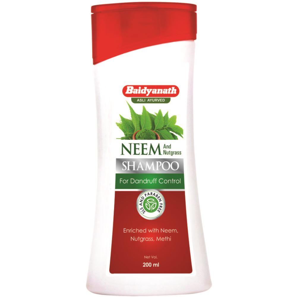 Baidyanath (Nagpur) Neem And Nutgrass Shampoo (200ml)