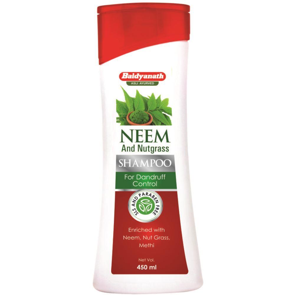Baidyanath (Nagpur) Neem And Nutgrass Shampoo (450ml)