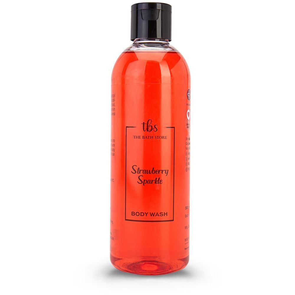 The Bath Store Strawberry Sparkle Body Wash (300ml)