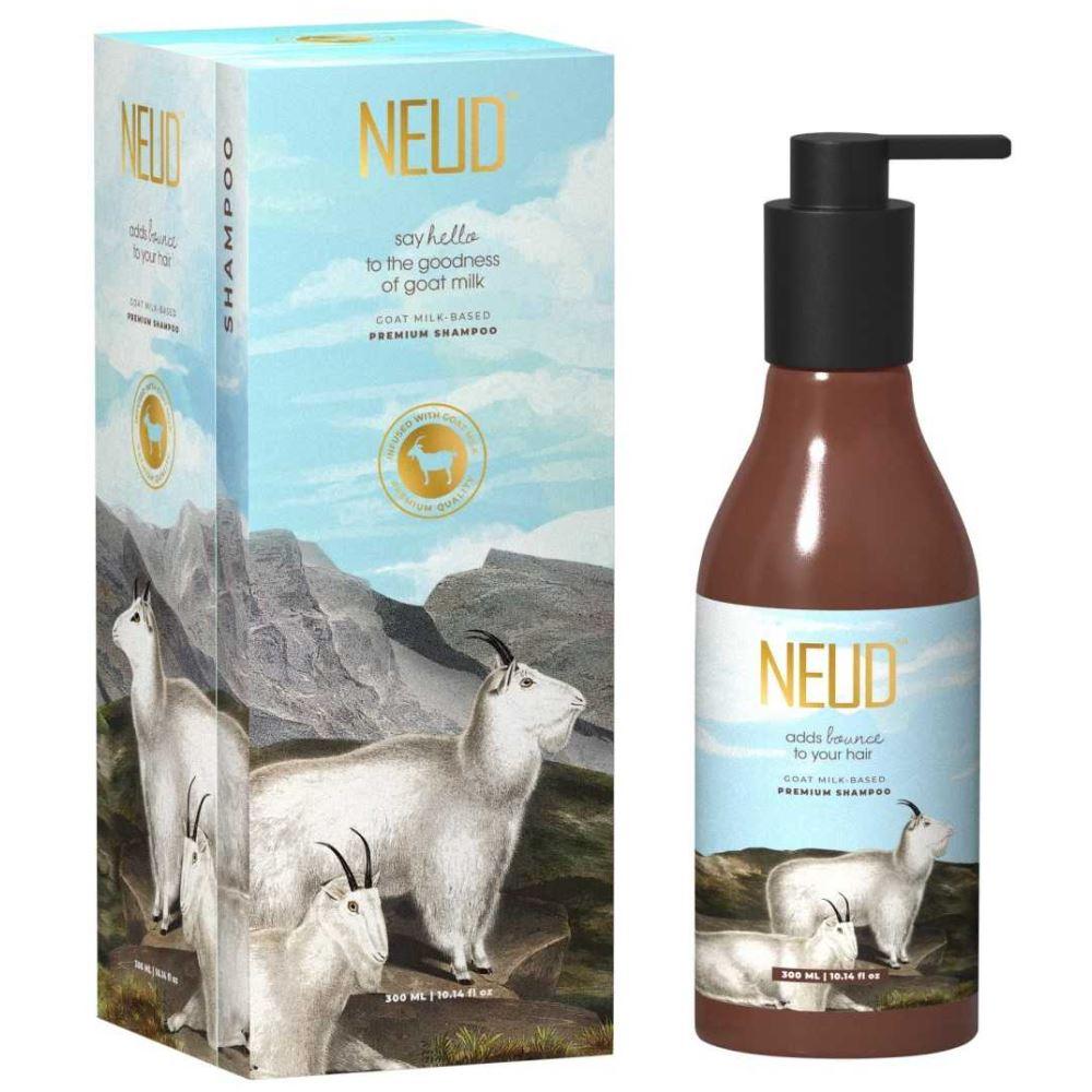NEUD Goat Milk Premium Shampoo With Free Pouch (300ml)