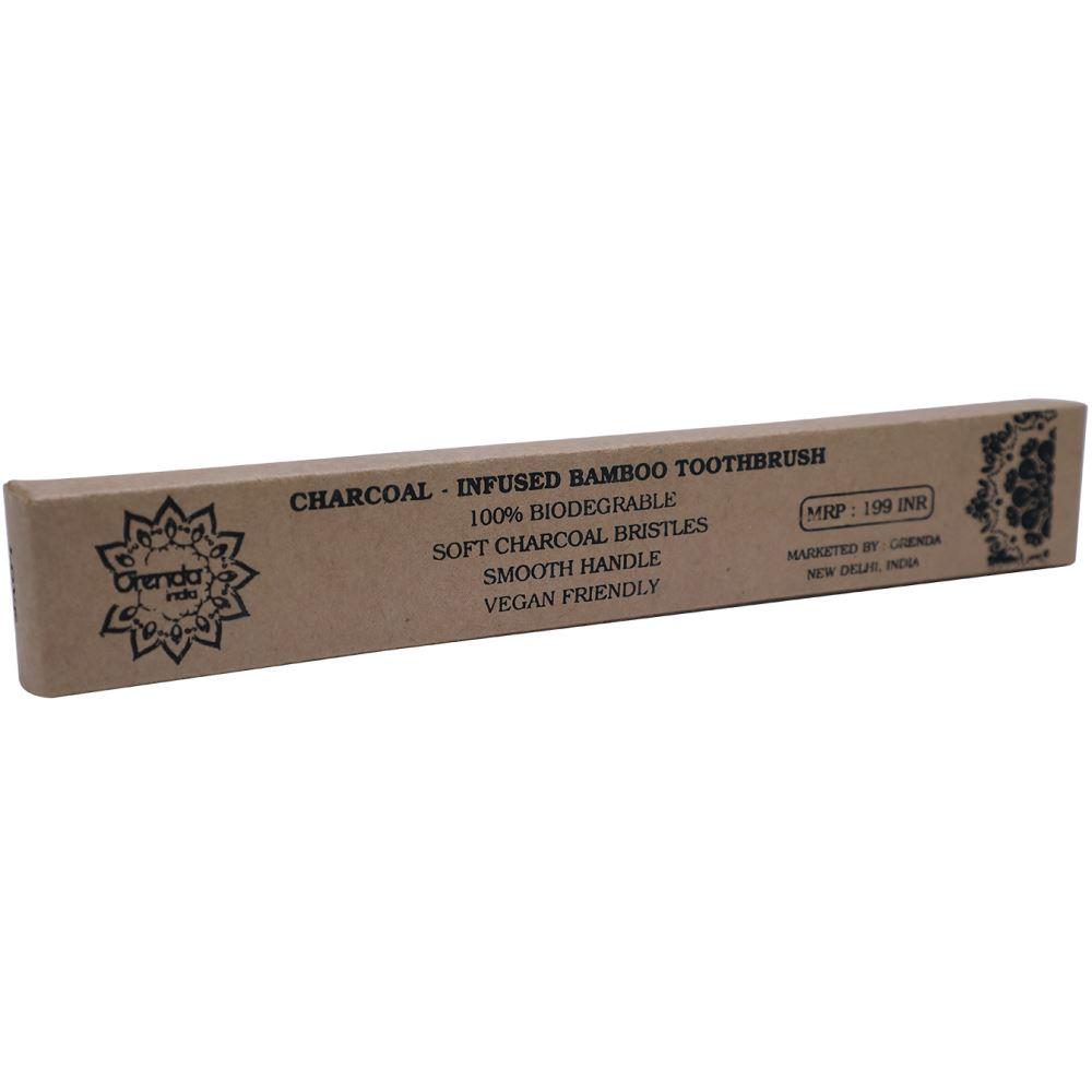 Orenda India Bamboo Charcoal Toothbrush (1pcs)
