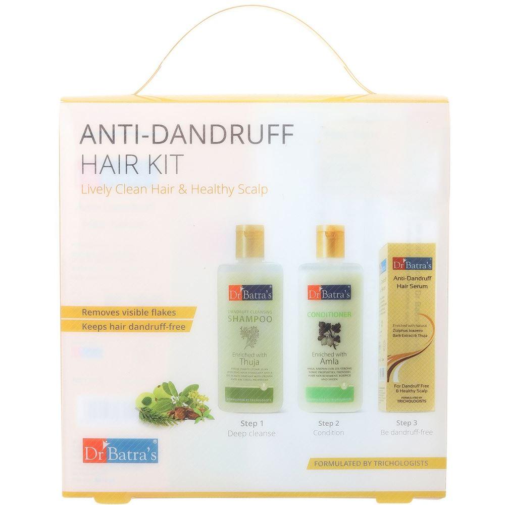 Dr Batras Anti Dandruff Hair Kit (1Pack)