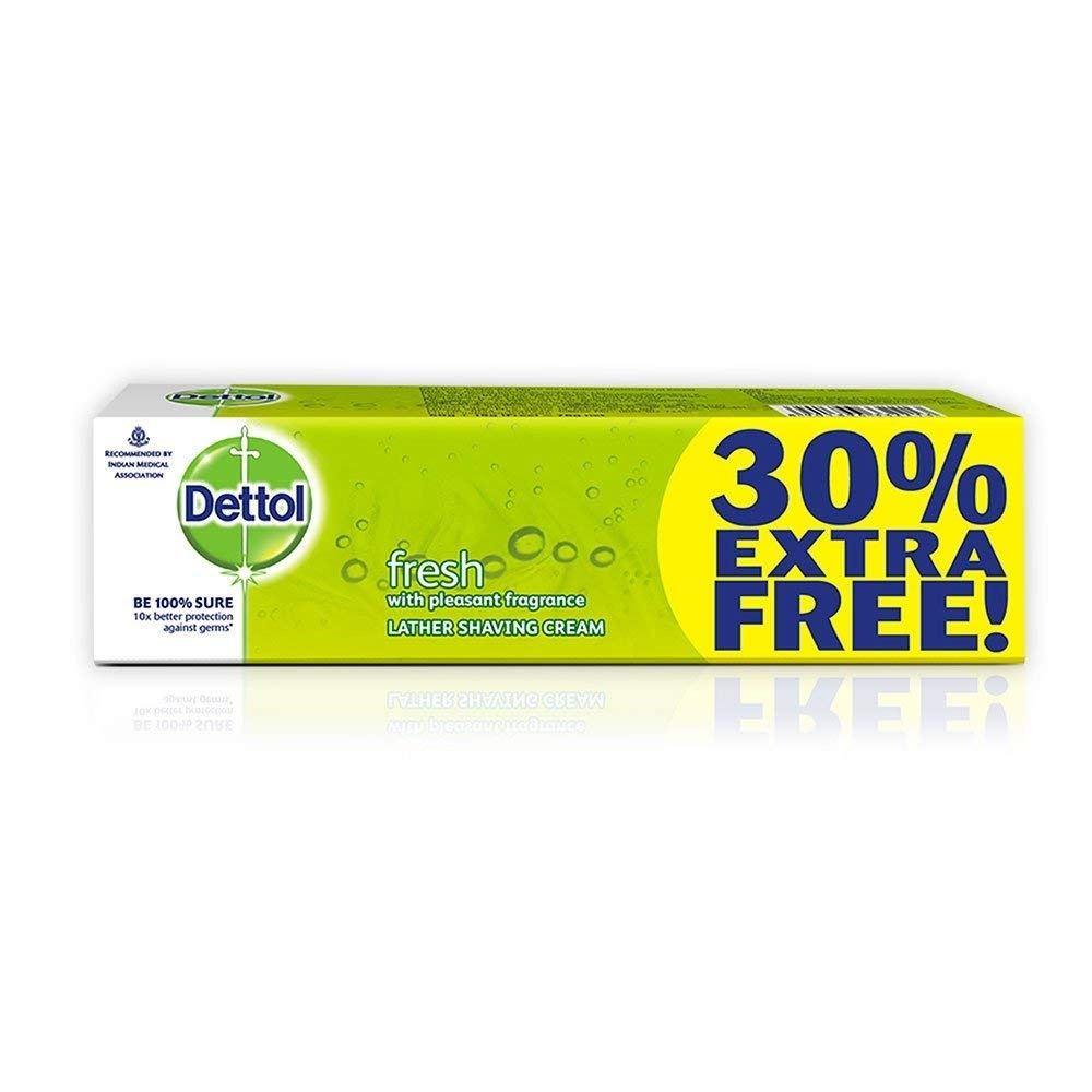 Dettol Fresh Lather Shaving Cream (60g)