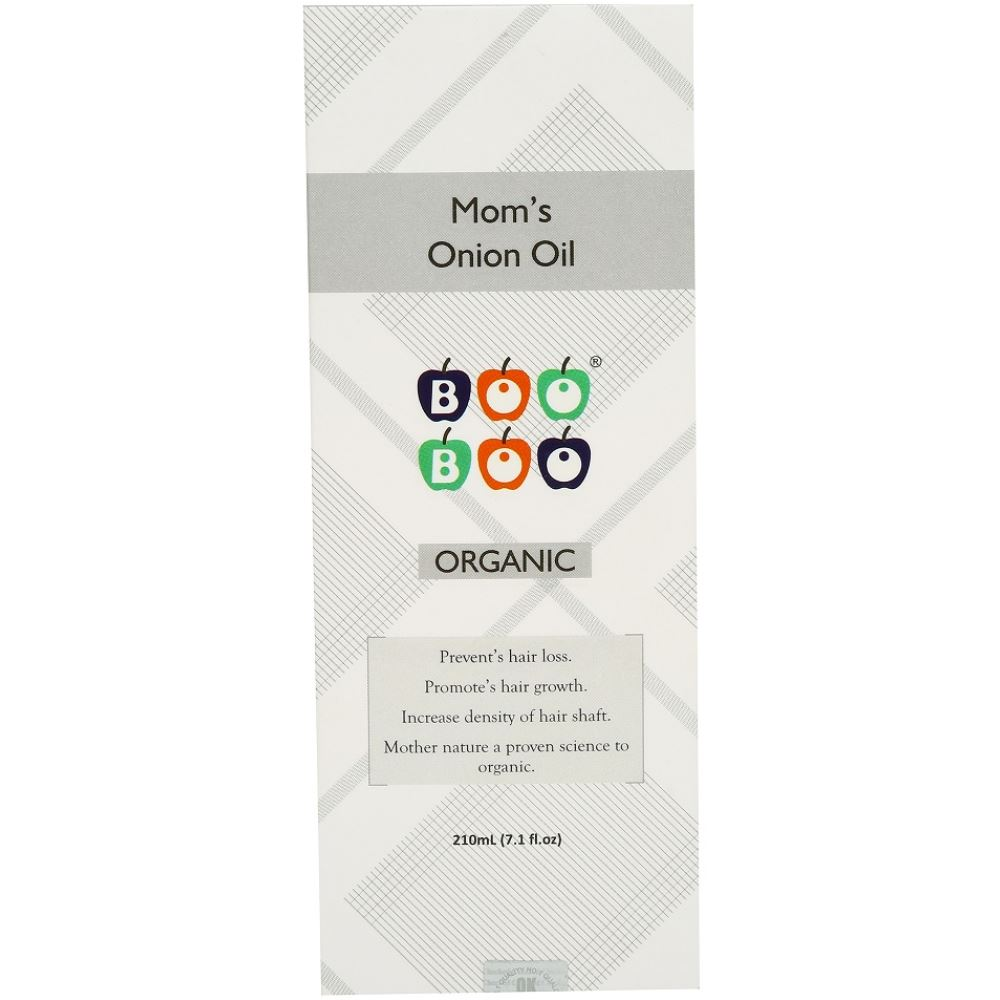Boo Boo Organic Moms Onion Oil (210ml)