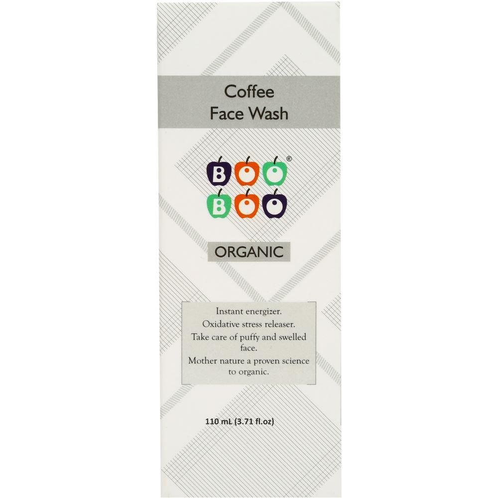Boo Boo Organic Coffee Face Wash  (110ml)