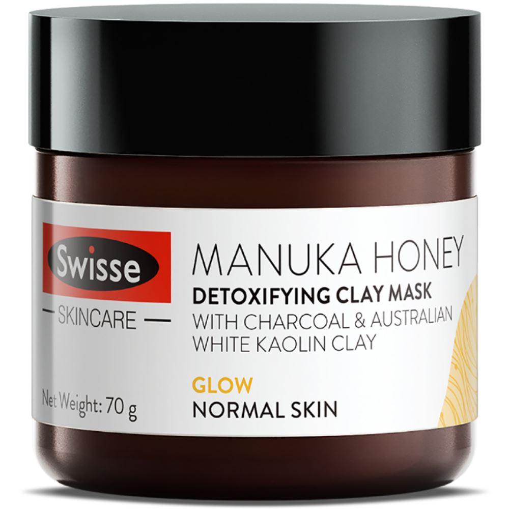 Swisse Skincare Manuka Honey Detoxifying Clay Mask (70g)
