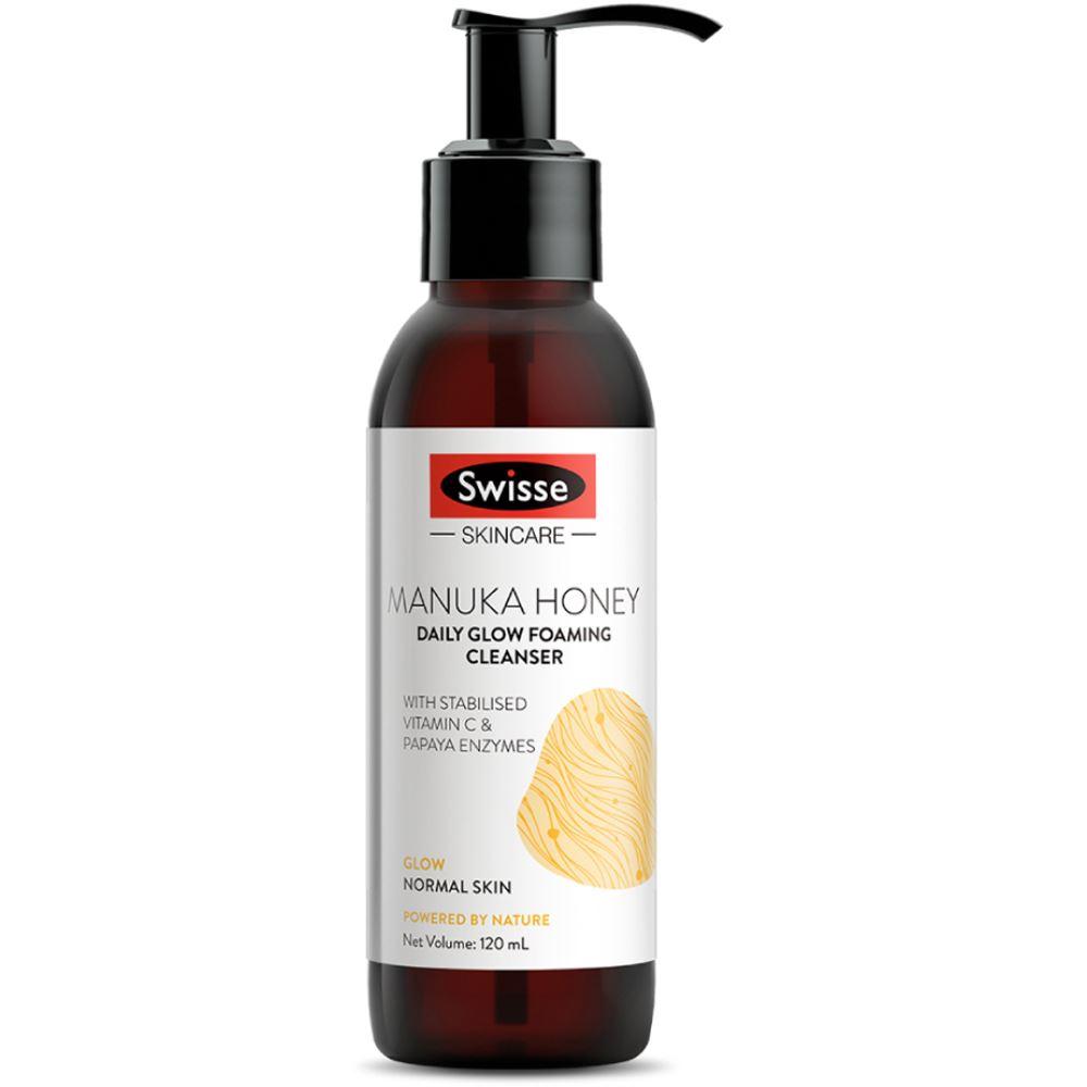 Swisse Skincare Manuka Honey Daily Glow Foaming Cleanser (120ml)