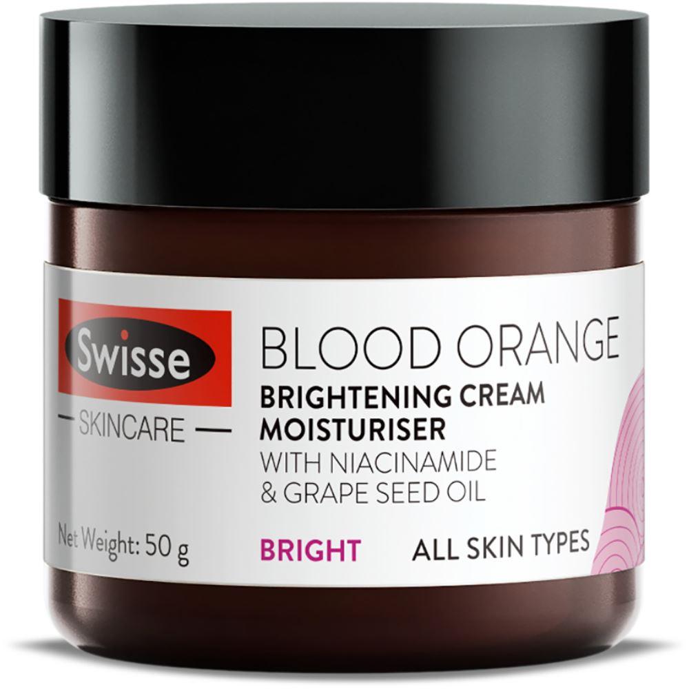 Swisse Skincare Blood Orange Brightening Cream Moisturiser (50g)