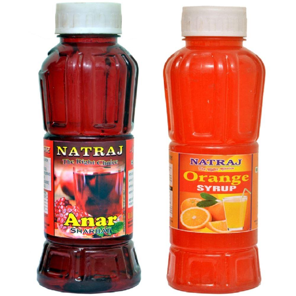 Natraj Anar & Orange Sharbat Combo (1Pack)