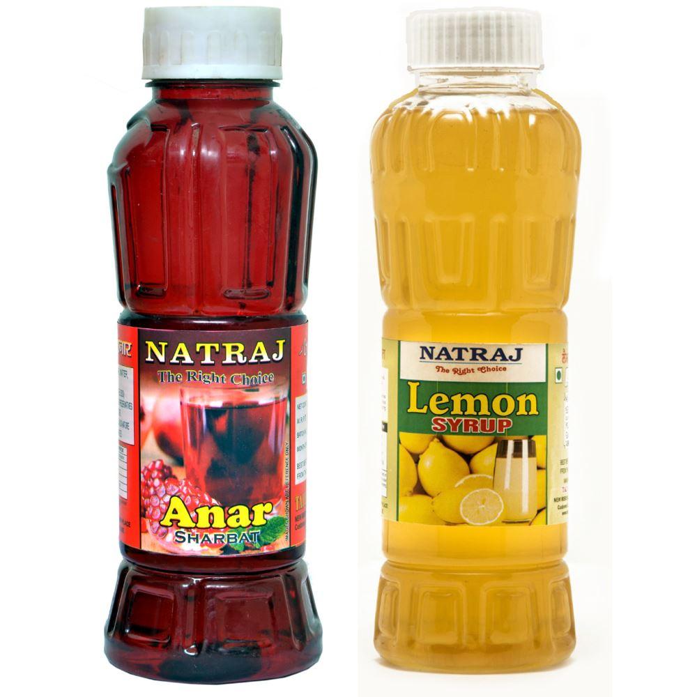 Natraj Anar & Lemon Sharbat Combo (1Pack)