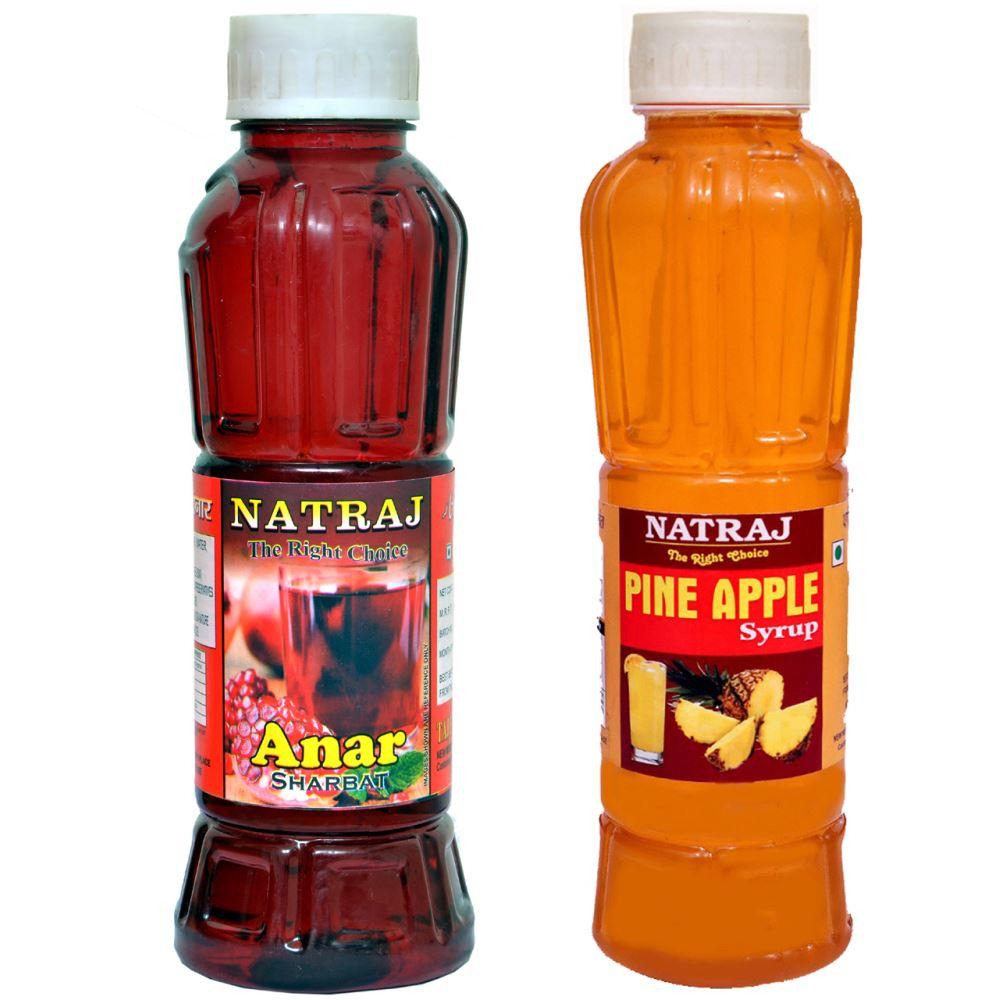 Natraj Anar & Pineapple Sharbat Combo (1Pack)