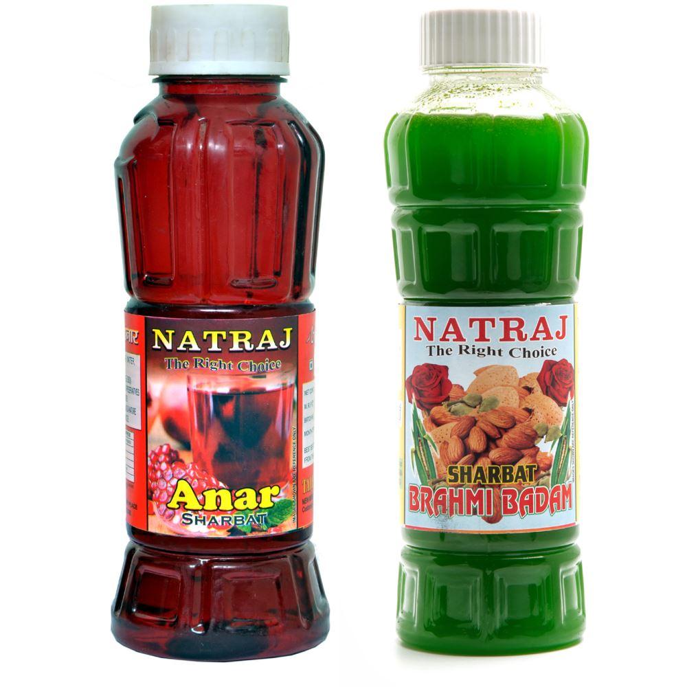 Natraj Anar & Brahmi Badam Sharbat Combo (1Pack)