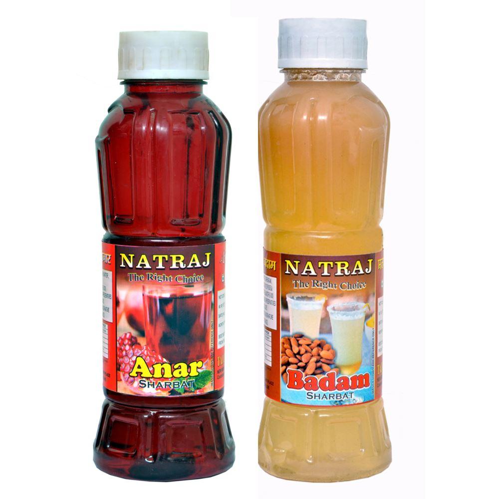 Natraj Anar & Badam Sharbat Combo (1Pack)