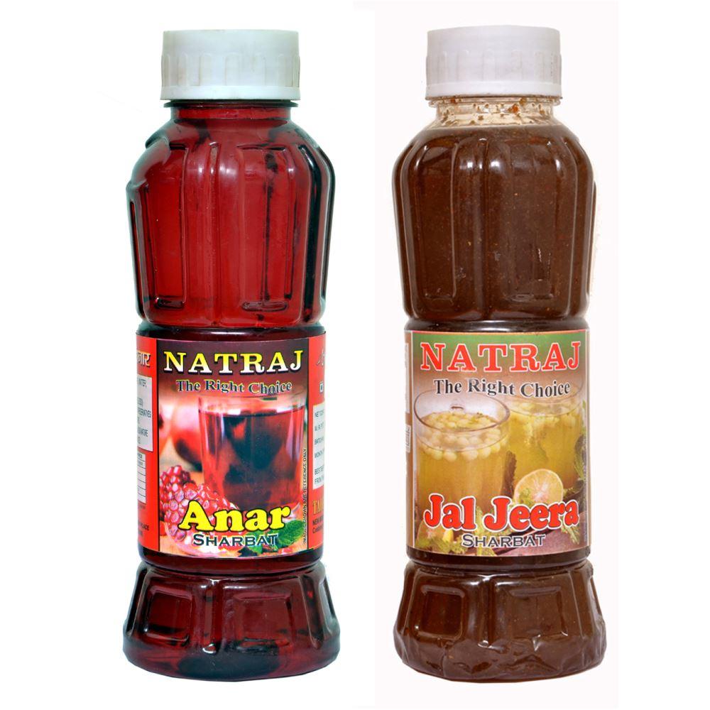 Natraj Anar & Jaljeera Sharbat Combo (1Pack)