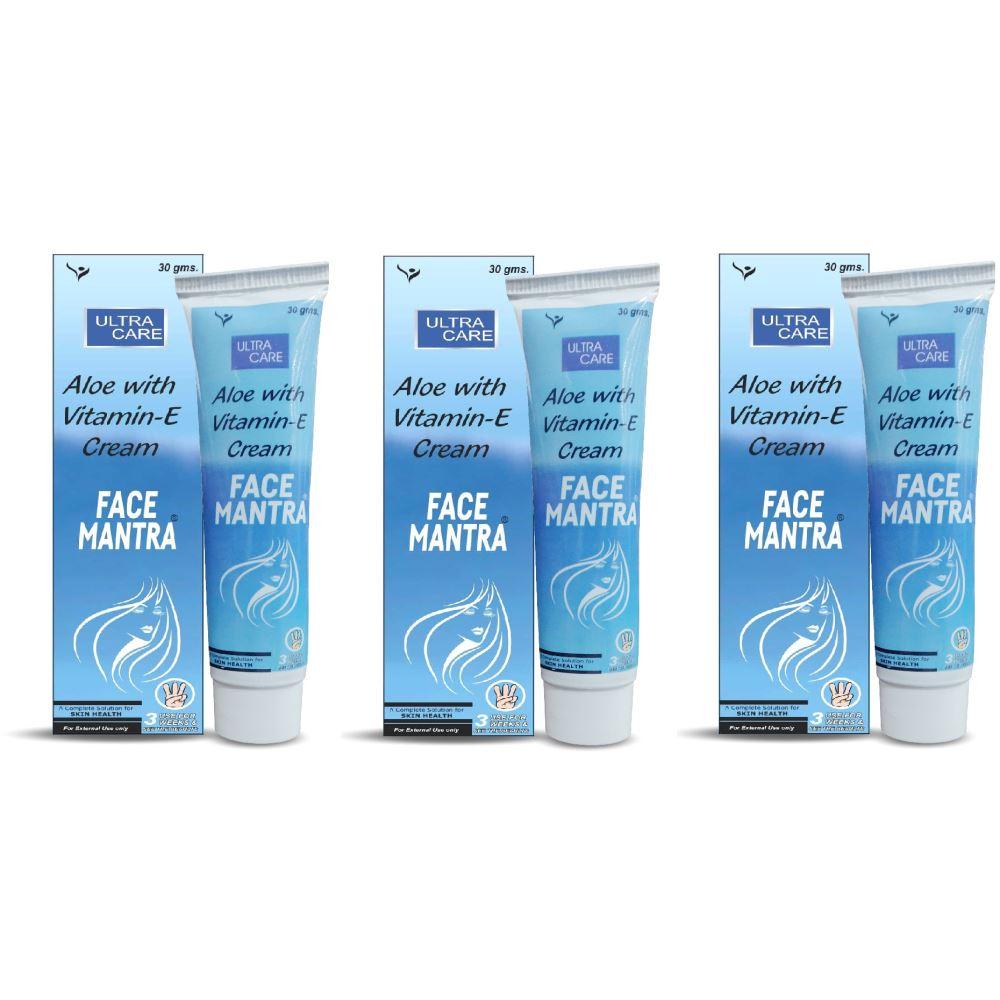 Tantraxx Face Mantra (Alova With Vitamin - E Cream ) (30g, Pack of 3)