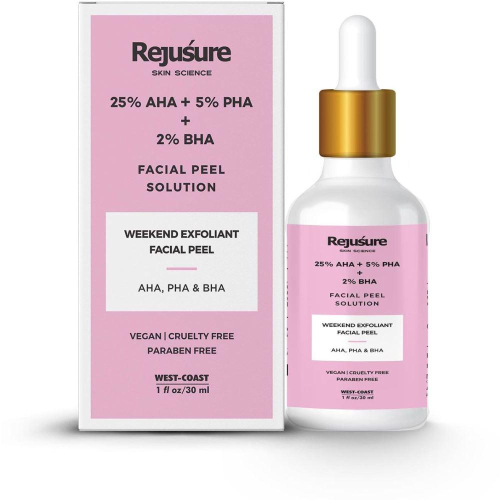 Rejusure Aha 25% + Pha 5% + Bha 2% Facial Peeling Solution (30ml)