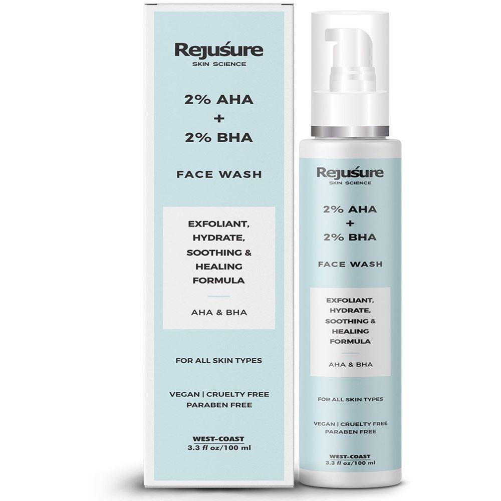 Rejusure Aha 2% + Bha 2% Face Wash (100ml)