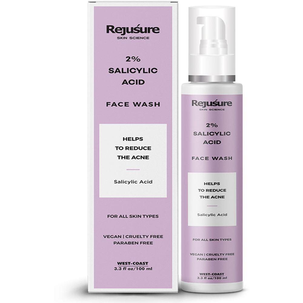 Rejusure 2% Salicylic Acid Face Wash (100ml)