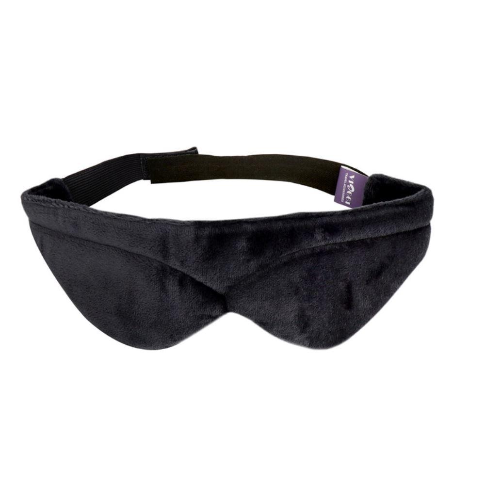 Viaggi Memory Foam Unisex Blindfold Sleeping Mask (Grey) (1pcs)