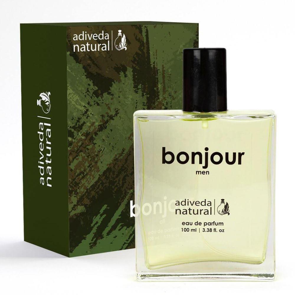 Adiveda Natural Bonjour Eau De Perfume Men (100ml)