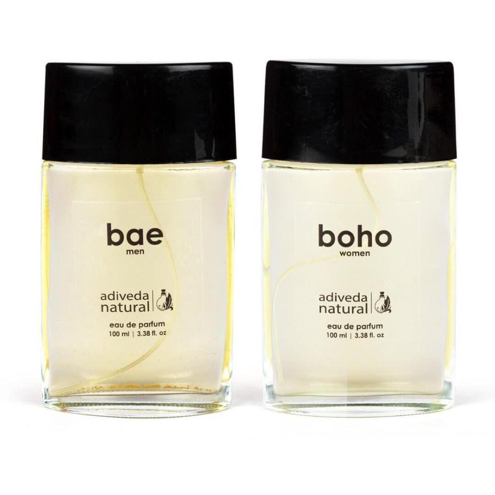 Adiveda Natural Bae & Boho Perfume Combo (1Pack)