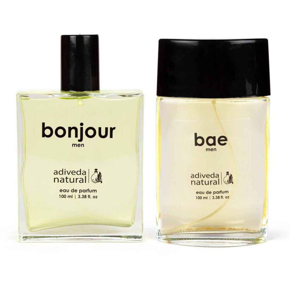 Adiveda Natural Bae & Bonjour Perfume Combo  (1Pack)