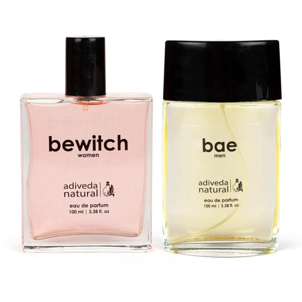 Adiveda Natural Bae and Bewitch For Men and Women Perfume Combo (1Pack)