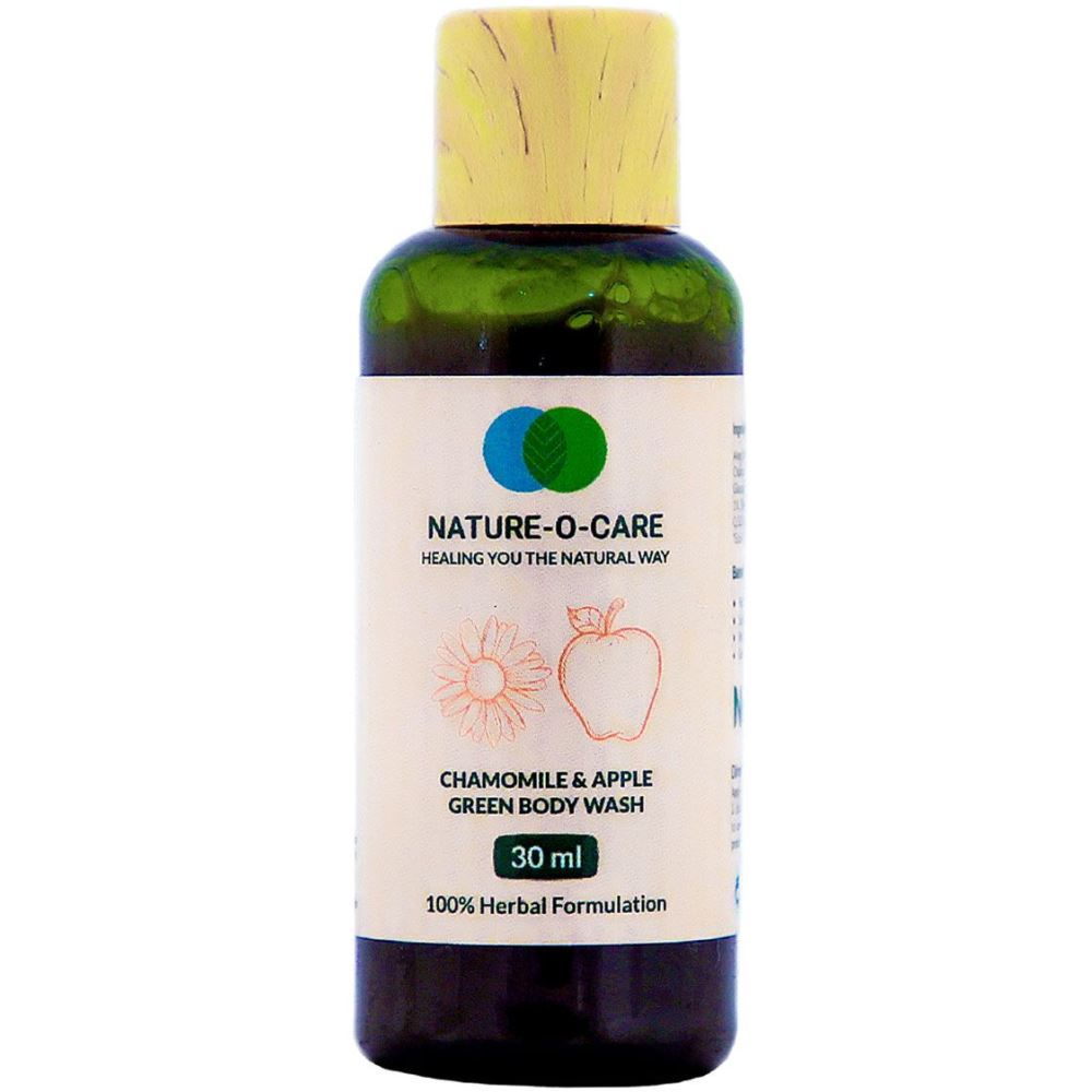 Nature O Care Chamomile & Apple Green Body Wash (30ml)