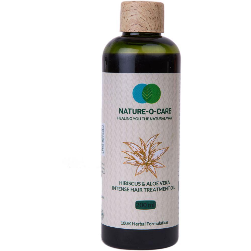 Nature O Care Hibiscus & Aloe Vera Intense Hair Treatment Oil (200ml)