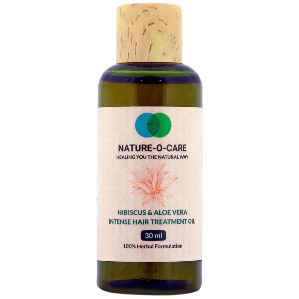 Nature O Care Hibiscus & Aloe Vera Intense Hair Treatment Oil (30ml)