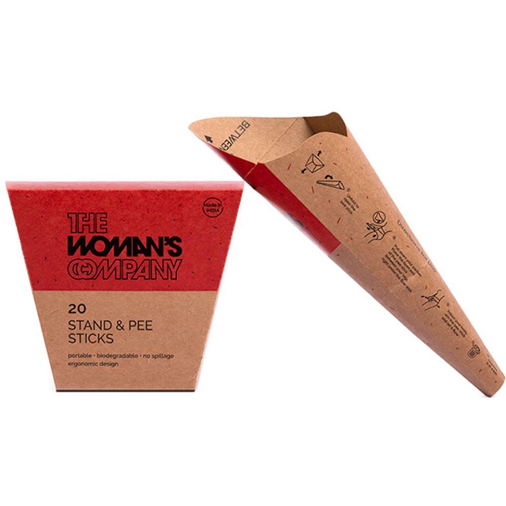 The Woman's Company Stand And Pee Sticks (20pcs)