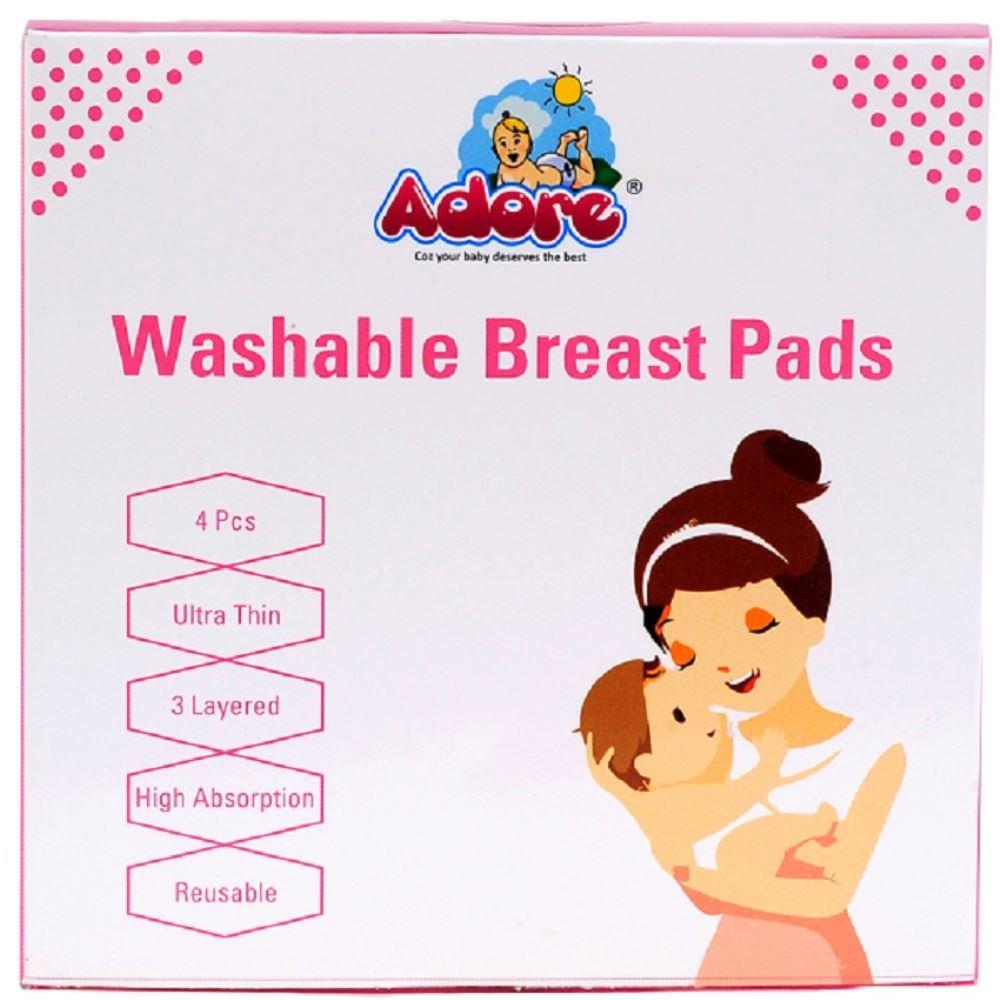 Adore Washable Breast Pad (4pcs)